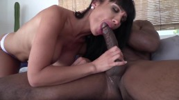 Valentina Ricci gets her pussy torn by a big black cock