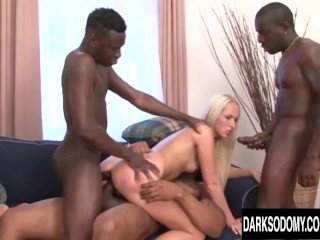Lots of black dicks vs Jenny's asshole