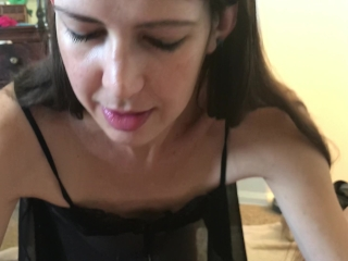 Wife sucking and jerking me off until I cum POV