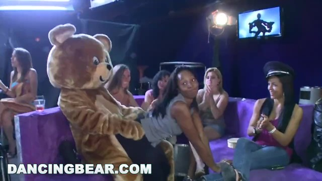 Asian bearing - Dancing bear - starting the party right with big dicks swinging bitches