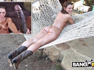 BANGBROS - Olivia Wilder's Incredible White Big Ass Taking Big Black Cock
