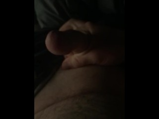Shhhhh, Roommate is asleep! Edging then cumming while he is in the room!