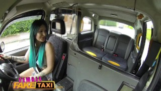 Female Fake Taxi Busty tattooed drivers ass fucked by Australian hunk Natural club