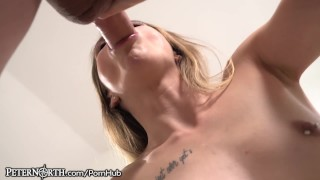 PeterNorth Small Teen Feels Dick Harder & Harder In Her Throat