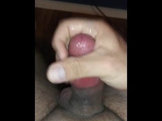 Masturbation with cumshot