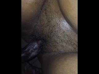 Watch me cream all over my boyfriend dick