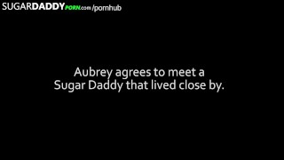 TINY TEEN finds SUGAR DADDY to FUCK in order to pay for college.