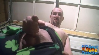Hairy tough homosexual is eager to spray his big load solo Reverse riding