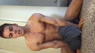 Cum wants after shower horny guy to ass homemade