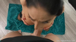 Cock twerking throat and ryder for fucked sheena pov 60fps