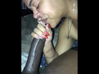 Throat fuckin and ebony Ass bouncing