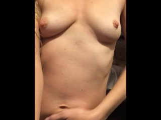 Sexy milf home alone