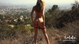 Public Sex Naked on Hollywood's Hills - Amateur Couple Outdoor LeoLulu  amateur anal outdoor cumshot public perfect body big dick best ass nature hollywood deepthroat cum on body doggystyle amateur couple rough sex leolulu view