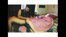 Sub Femboy Gets Spanked in Panties