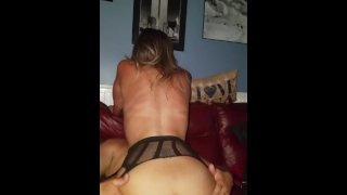 Real Amateur gangbang unprotected creampie hotwife w/ cheating neighbors Blowjob ass