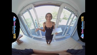 Banker vr beautiful with sexbabesvr adara amirah porn stockings pussy