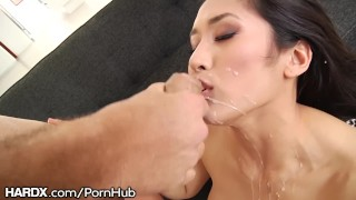 HardX Busty Mia Li Cums Hard from Deep Anal Drilling  ass fuck big tits lingerie big cock teasing hardx asian anal toys buttplug toys rimming drilled anal filipino buttfucking hard fast fuck