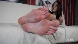 Dava Foxx - Stinky Feet JOI