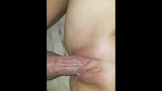 HUGE CREAMPIE my neighbor CUMS IN MY DIRTY HOTWIFE pussy while husband@work Gaping bbw