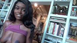Big Natural Breasted Ebony Teen Cheats on Boyfriend - Kandie Monae