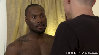 IconMale White College Boy Is Loving That Hunk Black Dick porno