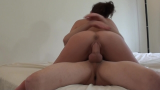 Giant big tits missionary riding fuck dick assview with cumshot huge homemade big