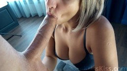 Blowjob for Huge Cock! Amazing!
