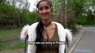 Public Agent Darcia Lee fucked under a bridge Facial big