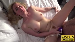 Real bonnie scot pounded