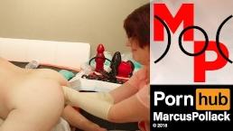 Nurse Sandra double fisting Marcus Pollacks XXO Speculum Pighole