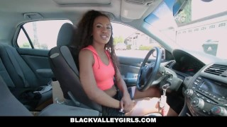 BlackValleyGirls - She Masturbates at the Car Wash Porno big