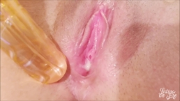 Close up My juicy pink pussy