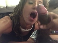 Glamgurlxoxo gets drenched by BBC
