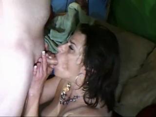 NorrisJ &Micky Marks front room fuck brunette ass fucked atm & facialized