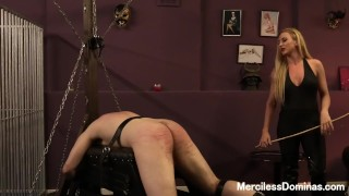 Miss Suzanna's Favorite Number - Painful Bastinado Session with Goddess porno