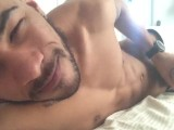 Waking up with big hard dick
