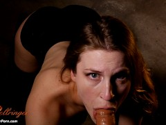 Sexy Thief Sucks Her Way Out II 4k