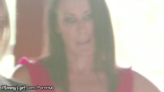 MommysGirl MILFs India Summer Reagan Foxx & Teen Amilia Onyx