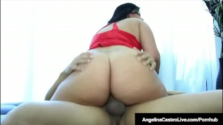 Super Tits Latina Angelina Castro Fucked By Spanish Cock!