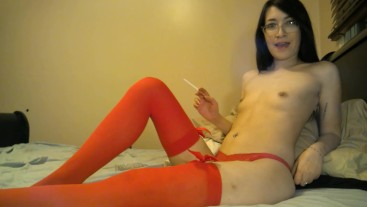 Asian Teen Smoker Talks Dirty & Teases You Smoking lizlovejoy.manyvids.com