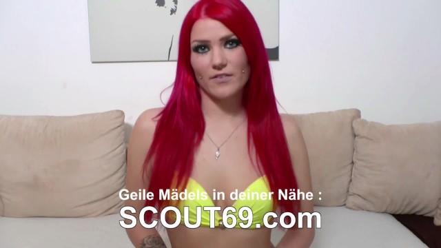 GERMAN SCOUT - KLEINE NUTTE SHRIMA MALATI HART BEI FAKE CASTING GEFICKT 7