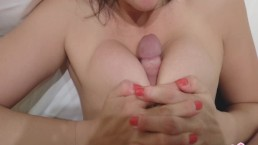 Fuck my Tits Fuck my Face and Cum Over me