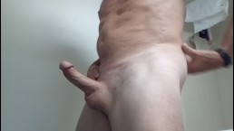 Playing With My Hard Cock For Sue And Kinky