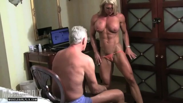 Nude fitness female hardbody Muscle milf domination mixed wrestling