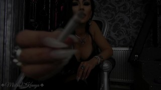 Mistress Kennya: Branded with My cigarette preview