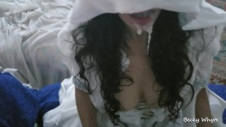 White Teen Goddess Covered In Massive Load - Mother Confessor
