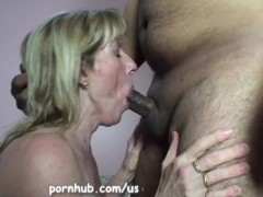 Mature Carol Cox Sucks and Swallows A Young Pornhub Member