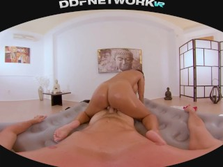 Hardcore Fuck & Oil Massage with Busty Chloe in POV 5k Virtual Reality