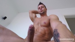 Maskurbate Czech Hunk Caught Flexing and Jerking on Spycam