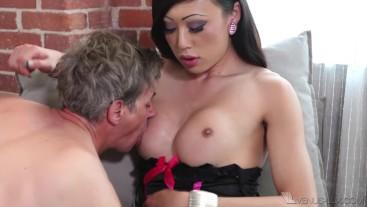 Venus Lux Plows Slave's Ass